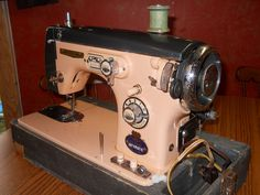 my fancy old sewing machine by ninjamomm, via Flickr