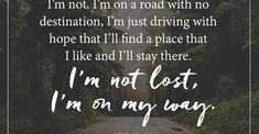 I am not lost by Ahunnaya