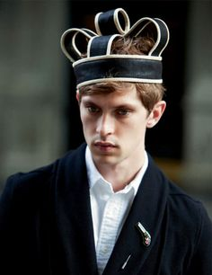 """Mathias Lauridsen in """"To be or not to be on Fifth"""" photographed by David Armstrong for Acne Paper F/W 2012"""