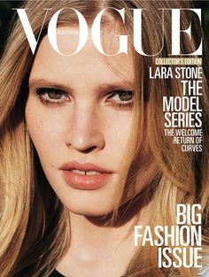 Lara Stone, March 2013, photographed by Angelo Pennetta.