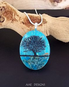 Dichroic Fused Glass Jewelry by Tanya Veit