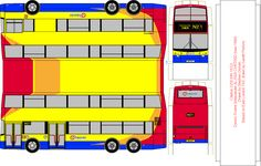 Citybus paper bus model - Stagecoach Fan Club. DIY paper craft