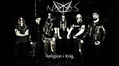 Natas Religion i Krig Norwegian Misanthropic Black Metal