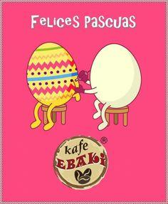 Feliz semana de Pascua #AllYouNeedIsLove #Love #Sunshine #Easter #SpringBrake #Desayunos #Breakfast #Yommy #ChaiLatte #Capuccino #Hotcakes #Molletes #Chilaquiles #Enchiladas #Omelette #Huevos #Malteadas #Ensaladas #Coffee #CDMX #Gourmet #Chapatas #Cuernitos #Crepas #Tizanas #SodaItaliana #SuspendedCoffees #CaféPendiente  Twiitter @KafeEbaki  Instagram kafe_ebaki www.facebook.com/KafeEbaki Pedidos 65482617