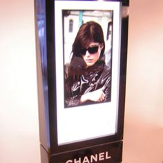 CHANEL - a very sexy and chic unit H squared has designed and produced for the UK market to display the awesome CHANEL eyewear products
