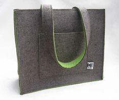 I love felt bags!
