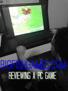 BIG FISH GAME REVIEW HEADER