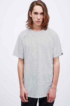 Worland Black Kenny All-Over Polka Dot Tee in White