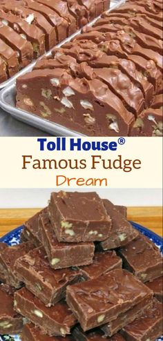 This Is Pretty Amazing! When it comes to sweet treats, fudge is number one at our house. It doesn't really matter what type of fudge I'm making, the kids will devour it as if it was the last piece of food on Earth. Fudge Recipes, Candy Recipes, Cookie Recipes, Dessert Recipes, Toll House Sugar Cookie Recipe, Best Fudge Recipe, Snacks Recipes, Waffle Recipes, Recipe Recipe