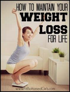 It's easy to lose motivation once you've hit your goal weight. So here's our guide to keeping it off forever!