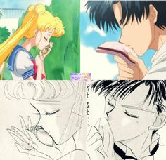 Sailor Moon Crystal- Act 7 Usagi x Mamoru by SairlorMoonFans.deviantart.com on…
