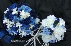 navy blue flowers