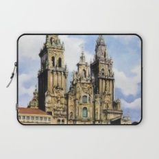 Catedral de Santiago de Compostela/Santiago de Compostela Cathedral Laptop Sleeve