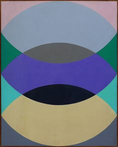 Leonard Brenner. Acrylic on canvas, late 1960s, 60 x 48 inches