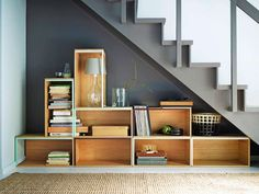 Unusual The shelving system Stacked from Muuto is composed of three different sized shelf segments in wood or white. From 119 Fr., manufactum.ch