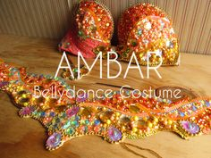 Coral Bellydance Costume