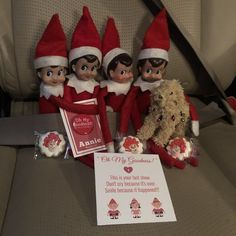 Elf On The Shelf.  Annie.  Cookies.  Oh My Goodness.  Sandy The Dog.  Elves.  Santa's Elves.  Drama. Thespian. Elfin Around.  Christmas Traditions.