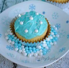 Blue Cupcakes, Desserts, Food, Tailgate Desserts, Deserts, Essen, Postres, Meals, Dessert