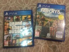 Lot 2 Ps4 Game Farcry5 Available Arabic Subtitle And Menus Grand Theft Auto 5 Grand Theft Auto Ps4 Games Theft