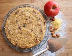 Jahelník s rozinkami a jablky - Avec Plaisir Olympus Digital Camera, No Bake Desserts, Oatmeal, Pie, Baking, Breakfast, Recipes, Food, The Oatmeal