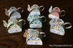 What a cute idea for church ladies tea this month.  ♥