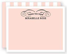 Flourish (Cherry Blossom) - Flat Notecard
