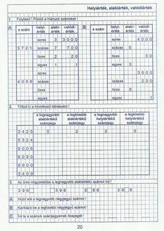 Gyere mesélj! - Képgaléria - Sulis feladat lapok (alsó tagozat) - Kiszámoló 4. osztály Bujo, School