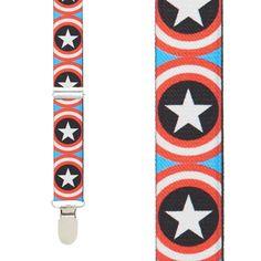 cd19952390f Captain America Suspenders. Suspender StoreDaily ...