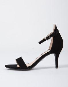 Ankle Strapped Kitten Heels