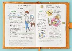 文庫本サイズのオリジナル - 全ページ解説 - ほぼ日手帳 2015