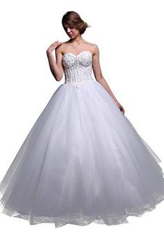 Fancode Women's Beaded Applique Ball Gown Wedding Dress Fancode http://www.amazon.com/dp/B01CSB1OG2/ref=cm_sw_r_pi_dp_CEk7wb1AMSP6C