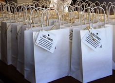 Lovely Ache: Wedding Welcome Bags for Out-of-Town Guests