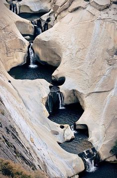 Seven Tea Cup Waterfalls, Johnsondale, California, USA