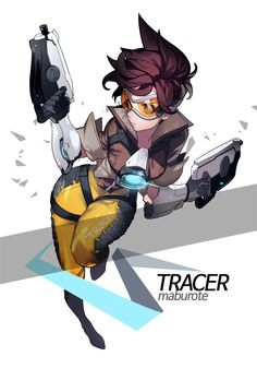 forthepixels:  Tracer art by maburote
