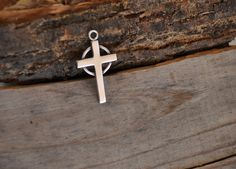 Sterling silver pendant Gusterman silver cross sterling cross Gusterman Sterling Georgetown Sterling Silver Jewelry DK328 by Andiesvintage on Etsy