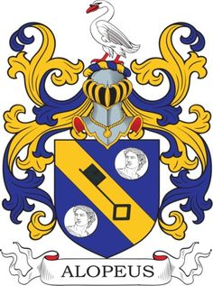 Alopeus Family Crest and Coat of Arms