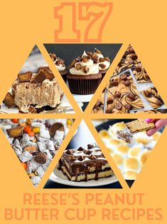 17 Insanely Delicious Reese's Peanut Butter Cup Recipes #Reeses #Peanutbutter #ReesesPeanutButter #Dessert #Chocolate @reeses Reeses Peanut Butter Cup Recipe, Peanut Butter Brownies, Peanut Butter Cookies, Chocolate Chip Cookies, Like Chocolate, Dessert Chocolate, Puppy Chow, Sauce, No Bake Desserts