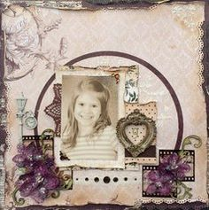 Project Ideas for Bo Bunny - Rose Cafe Collection - Noteworthy Journaling Cards