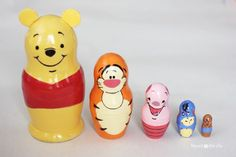 Winnie the Pooh Nesting Dolls - Repeat Crafter Me