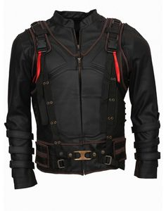 Bane Vest plus Leather Jacket-Celebrity Leather Costume