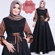 Baju Atasan Pakaian Wanita Gamis Hijabers Ruby Dress Black - http://bit.ly/2k0xXng  ⬇ Untuk INFO Dan ORDER ⬇ WhatsApp Klik ➡ http://boleh.click/wa/zaidgrosir CS2 PIN BBM ➡ http://boleh.click/b/zaid-bbm