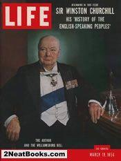 Churchill on Britain life magazine cover: 19 Mar 1956