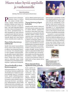 Patela - Herukka - Rajakylä -aluelehteen syksyllä 2015 kirjoittamani juttu.