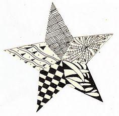 Lone Star Zentangle