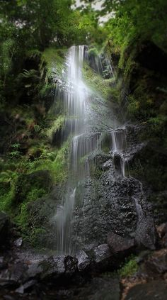 Mallyan Spout, Foss Waterfall, North Yorkshire Moors