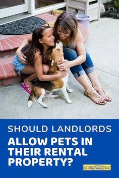 As a #landlord, you've probably given some thought as to whether or not you should allow pets in your #rental property. And if you're catering to #military renters, it's especially important to consider. #propertymanagement #militarylandlord Deployment Care Packages, Real Estate Articles, Home Buying Tips, Mortgage Tips, Military Wife, First Time Home Buyers, Real Estate Investor, Rental Property, Property Management