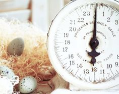 vintage farmhouse kitchen scale and eggs 8x10 by alicewphotography, $16.00