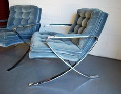 Milo Baughman Chrome chairs I WANT