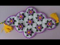 Püsküllü papatya lif modeli - YouTube Newborn Crochet, Crochet Baby Hats, Crochet Gifts, Crochet Chart, Crochet Stitches, Free Crochet, Crochet Girls Dress Pattern, Crochet Patterns, Crochet Unicorn Hat
