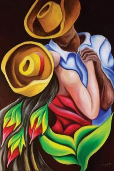 Canvas Artwork, Canvas Art Prints, Painting Prints, Canvas Wall Art, Painting Canvas, Latin Decor, Cuban Art, Dance Paintings, Caribbean Art
